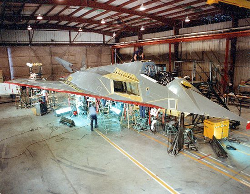 Lockheed : F-117A : Stealth Fighter; Nighthawk
