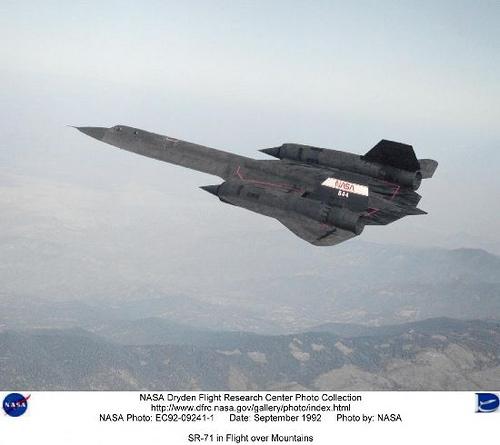 Lockheed : SR-71 : (Blackbird)